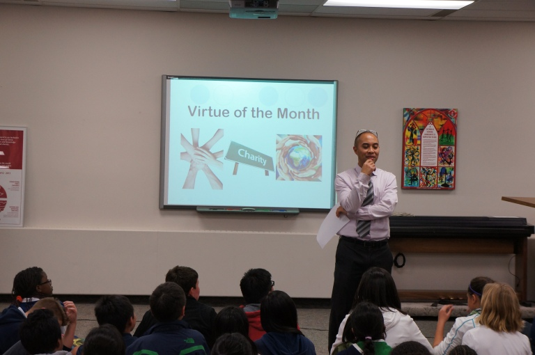 The amazing, Mr. Michael Consul talks about December's virtue of the month, Charity.