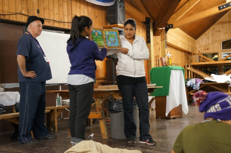 Anita Carunkar $ Leanne D'Souza close our second day at camp with a bedtime story