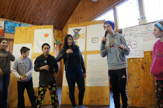 Student leaders present their plans for action