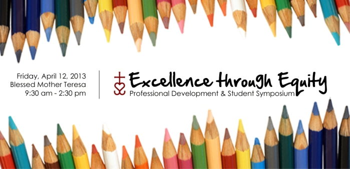 Excellence through Education Poster (large)