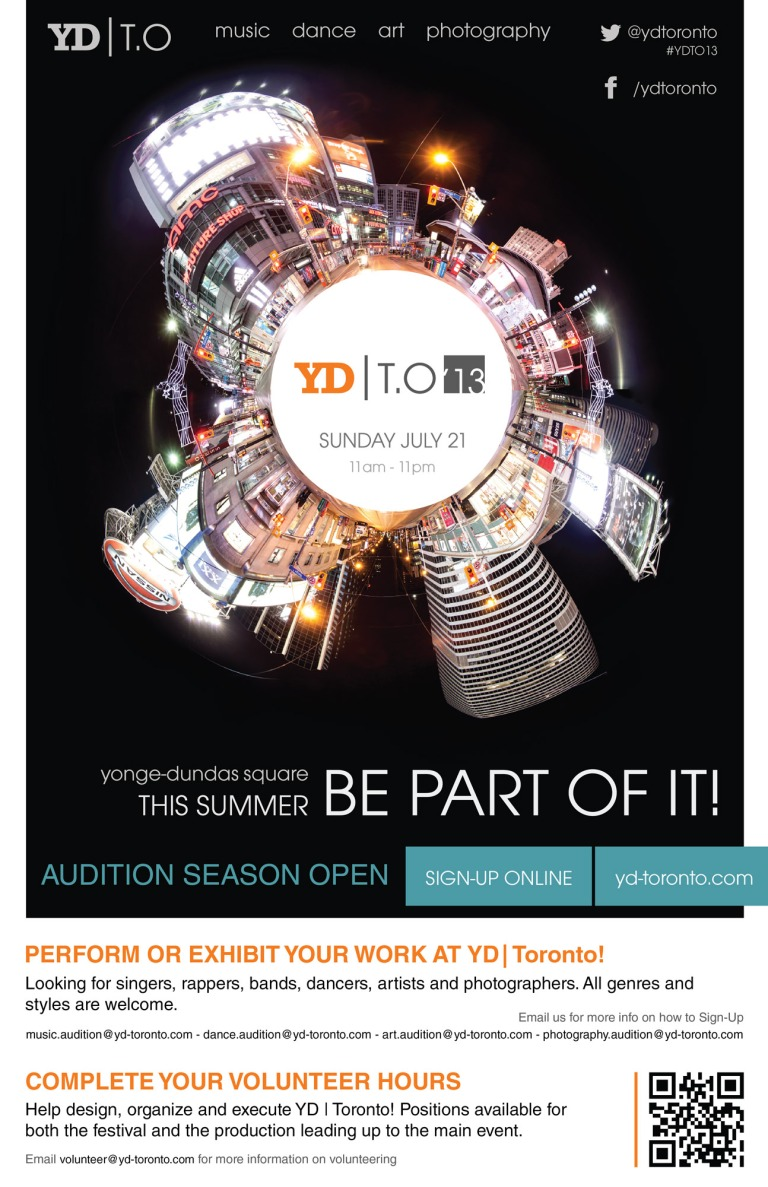 YD Toronto Promo Poster example