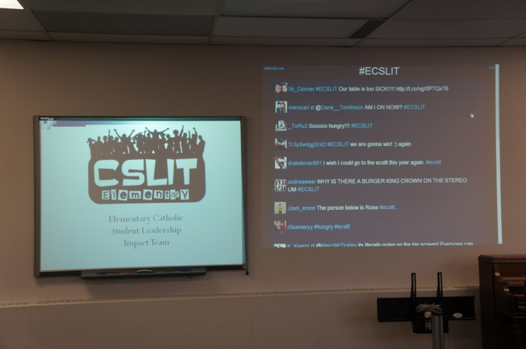 Welcome to E-CSLIT's March 7th meeting! Get it trending on twitter!