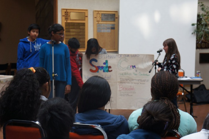 The schools shared their Action Plans which were made at SMILE Camp last year.