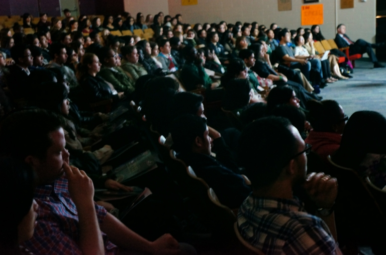The students launched into watching a 1 hour version of the documentary-drama, Iris Chang: The Rape of Nanking.