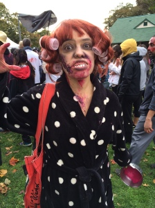 You don't want to mess with this zombie! You woke her up from her beauty sleep!