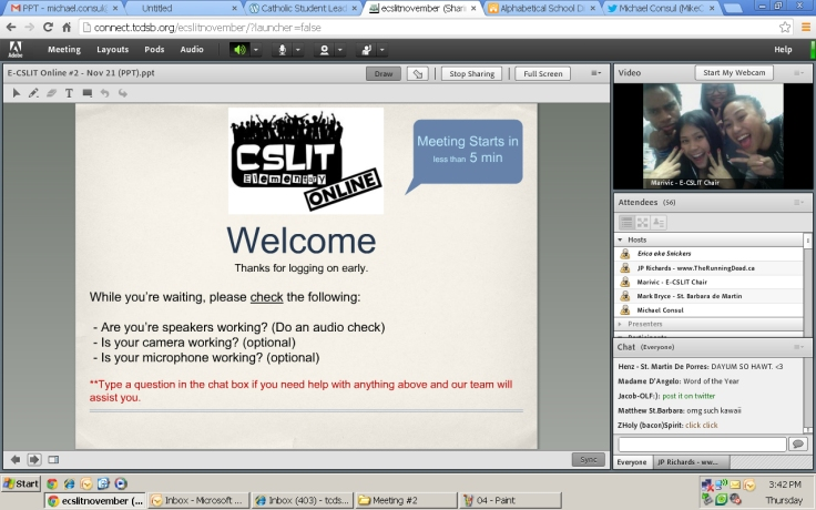 Check it out: it's the E-CSLIT Team!