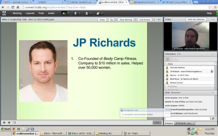 Jp Richards explains who he is!