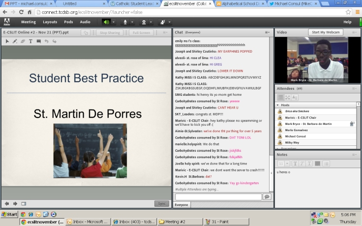Thank you so much St. Martin De Porres for sharing your best teacher practice :)