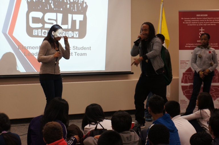 Tanika and Tesmond make a speical guest appearance to E-CSLIT!