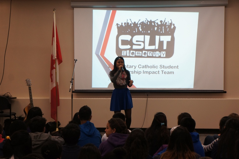 It's 4:30 p.m. and you know what that means! The E-CSLIT meeting officially begins. Our E-CSLIT Chair, Marivic, welcomes everyone.
