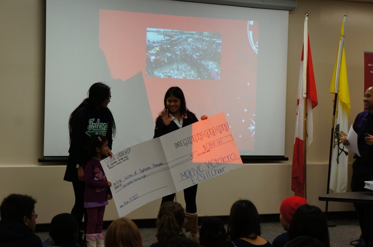 In total E-CSLIT has raised $848 for the Philippines! Great job! :)