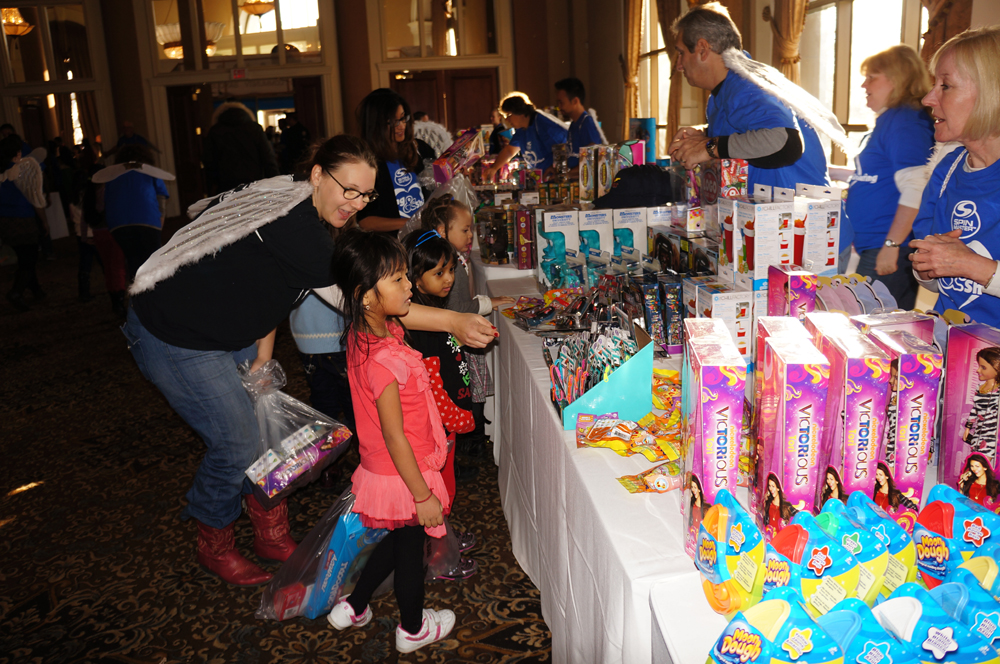 Children's Breakfast Club Christmas Toy Drive by Spinmaster
