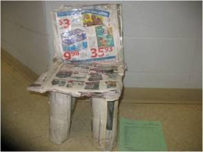 Newspaper Chair