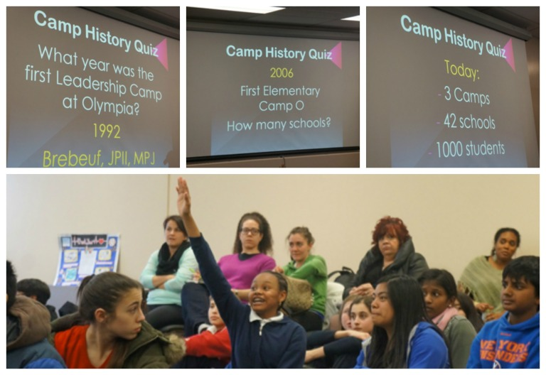 Do you know the answers for the Camp O quiz?