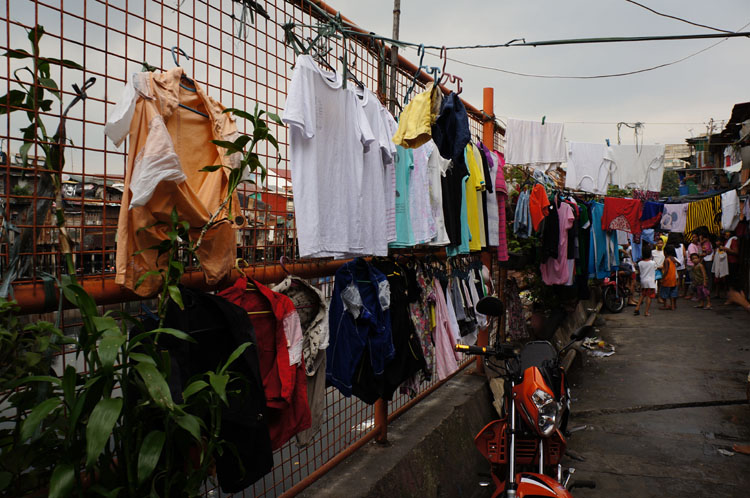 Unlike Toronto, everything is washed and dried without machines