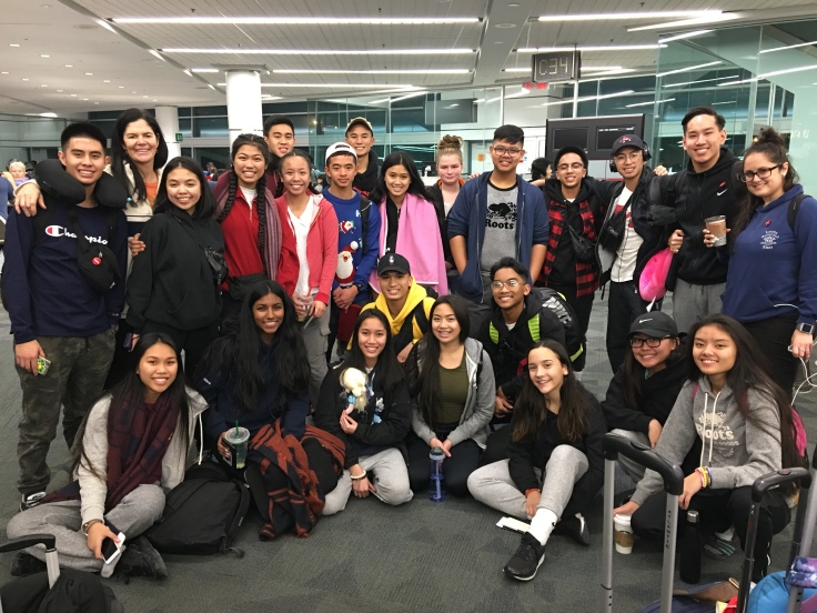 Our last group shot before departing for Manila, Philippines
