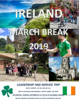 Ireland 2019 flyer - September info meeting copy