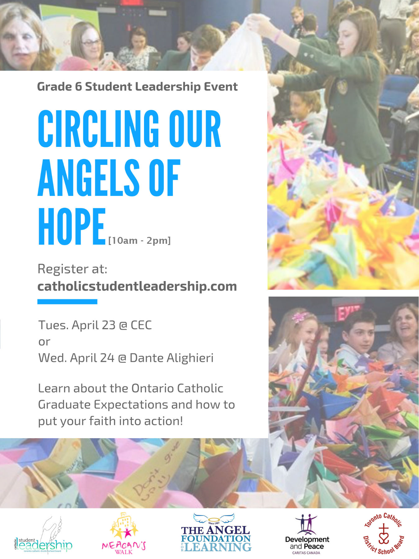 Circling Our Angels of Hope 2019 REGISTER HERE – Catholic
